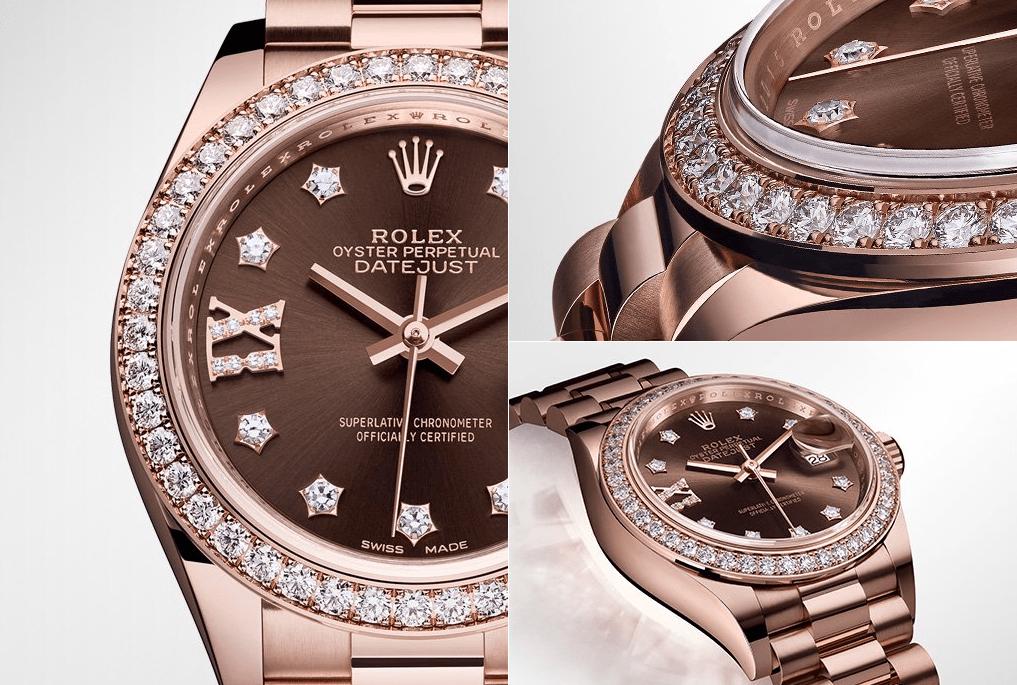 Rolex Rosa Diamanti